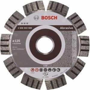 Диск алмазный Bosch 125х22.2 мм Best for Abrasive (2.608.602.680)