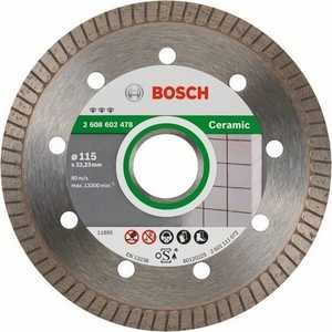 Диск алмазный Bosch 115х22.2 мм Best for Ceramic Extra-Clean Turbo (2.608.602.478) gt2256s 762931 0001 762931 32006047 762931 0003 762931 0002 762931 5001s turbo for perkin backhoe loaders scout 4 4 96 md25ti d