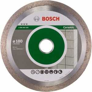 Диск алмазный Bosch 180х25.4 мм Best for Ceramic (2.608.602.635)