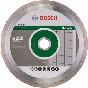 Диск алмазный Bosch 230х25.4 мм Best for Ceramic (2.608.602.637)