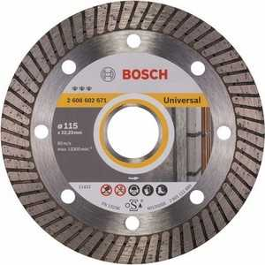 Диск алмазный Bosch 115х22.2 мм Best for Universal Turbo (2.608.602.671)