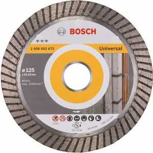Диск алмазный Bosch 125х22.2 мм Best for Universal Turbo (2.608.602.672)