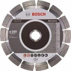 Диск алмазный Bosch 180х22.2 мм Expert for Abrasive (2.608.602.609) диск отрезной алмазный для угловых шлифмашин bosch professional for abrasive
