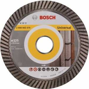 Диск алмазный Bosch 125х22.2 мм Expert for Universal Turbo (2.608.602.575)