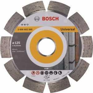 Диск алмазный Bosch 125х22.2 мм Expert for Universal (2.608.602.565) 1000pcs universal viton oring seals gb3 100 asnu08c for universal bosch fuel injection injector ay o2012