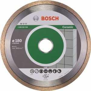 Диск алмазный Bosch 180х25.4 мм Standard for Ceramic (2.608.602.536)