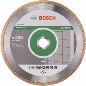Диск алмазный Bosch 230х25.4 мм Standard for Ceramic (2.608.602.538)