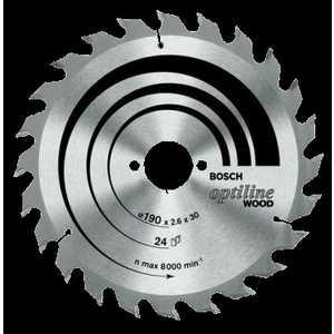 Диск пильный Bosch 160х20/16мм 36зубьев Optiline Eco (2.608.641.786)