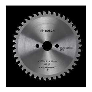 Диск пильный Bosch 160х20/16мм 42зуба Multi Material Eco (2.608.641.800)