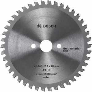 Диск пильный Bosch 190х20/16мм 54зуба Multi Material Eco (2.608.641.801)