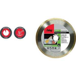 Диск алмазный Fubag 125х22.2мм Keramik Extra (33125-3) алмазный брусок extra fine 1200 mesh 9 micron dmt w6e