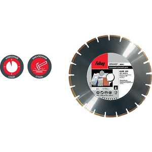 Диск алмазный Fubag 350х30/25.4мм MH-I (58222-6) диск алмазный fubag 1000х60мм mh i 59100 9