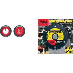 Диск алмазный Fubag 125х22.2мм Multi Master (88125-3) produino st master chip 0 56 led 3 digital dc voltmeter black 3 5 30v