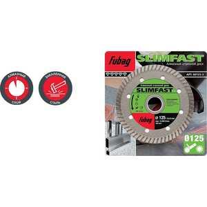 Диск алмазный Fubag 125х22.2мм Slim Fast (80125-3) high quality pc cpu cooler cooling fan heatsink for intel lga775 1155 amd am2 am3 754 wholesale price