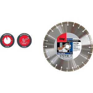 Диск алмазный Fubag 125х22.2мм Universal Extra (32125-3) алмазный брусок extra fine 1200 mesh 9 micron dmt w7e