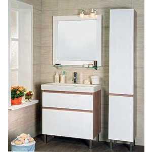 Комплект мебели Мойдодыр Сорренто 80 корзина для белья сорренто 45л белый м1708