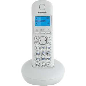 Радиотелефон Panasonic KX-TGB210RUW радиотелефон panasonic kx tg1611ruj бежевый kx tg1611ruj