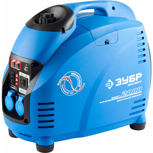 Генератор бензиновый инверторный Зубр ЗИГ-2000 генератор бензиновый зубр зиг 1200