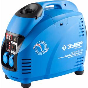 Генератор бензиновый инверторный Зубр ЗИГ-2500 генератор бензиновый зубр зиг 1200