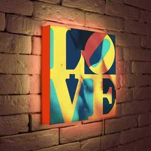 FotonioBox Лайтбокс LOVE 1 35x35-041 лайтбокс love 1 45x45 041
