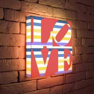 FotonioBox Лайтбокс LOVE 2 35x35-125 лайтбокс nyc 35x35 105