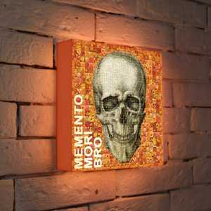 FotonioBox Лайтбокс Momento Mori 25x25-121 fotoniobox лайтбокс малевич 2 25x25 137