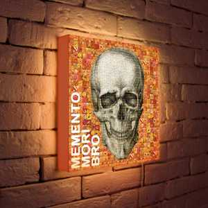 FotonioBox Лайтбокс Momento Mori 35x35-121 fotoniobox лайтбокс хай тек 35x35 057