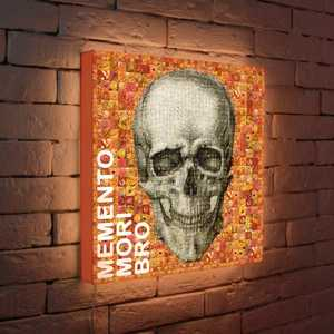 FotonioBox Лайтбокс Momento Mori 45x45-121 fotoniobox лайтбокс хай тек 45x45 057