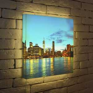 FotonioBox Лайтбокс NYC 2 45x45-110 fotoniobox лайтбокс nyc 2 25x25 110