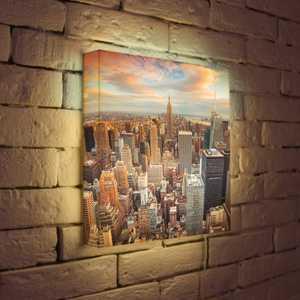 "FotonioBox Лайтбокс ""NYC"" 35x35-105"