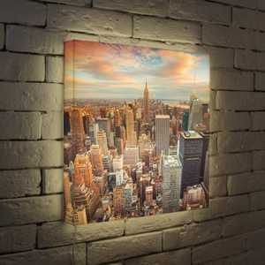 FotonioBox Лайтбокс NYC 45x45-105 fotoniobox лайтбокс nyc 2 45x45 110