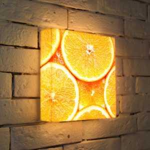 серебро FotonioBox Лайтбокс ''Апельсины'' 25x25-174