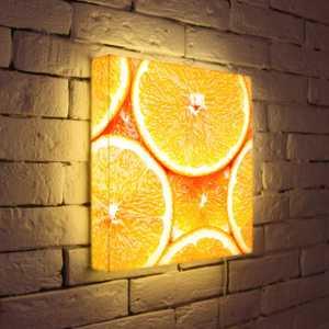 FotonioBox Лайтбокс Апельсины 35x35-174 лайтбокс nyc 35x35 105