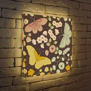 FotonioBox Лайтбокс Бабочки 45x45-009