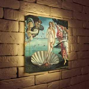FotonioBox Лайтбокс Боттичелли Рождение Венеры 35x35-139 худи print bar рождение совершенства 1972