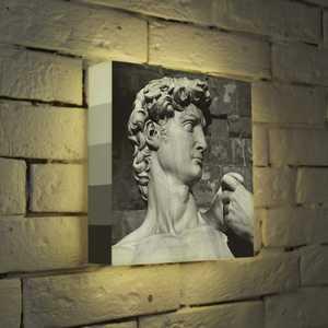 FotonioBox Лайтбокс Голова Давида 25x25-037