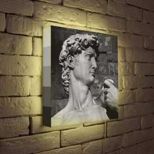 FotonioBox Лайтбокс Голова Давида 35x35-037