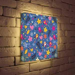FotonioBox Лайтбокс ''Детский узор'' 35x35-051
