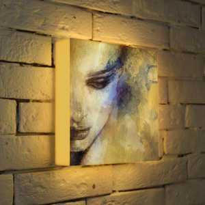 FotonioBox Лайтбокс Женский портрет 25x25-012 женский гардероб