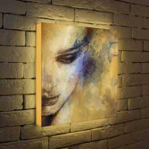 FotonioBox Лайтбокс Женский портрет 45x45-012