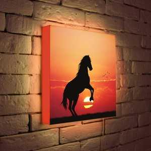 FotonioBox Лайтбокс ''Конь'' 35x35-054