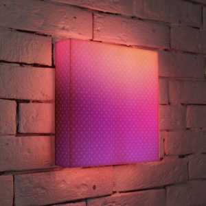 FotonioBox Лайтбокс Лиловый 25x25-080 fotoniobox лайтбокс малевич 2 25x25 137