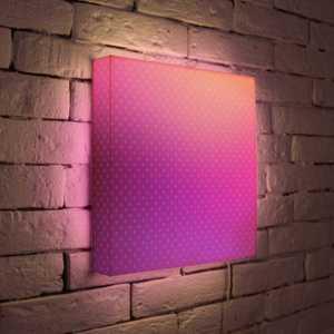 FotonioBox Лайтбокс ''Лиловый'' 35x35-080