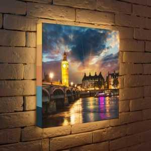 FotonioBox Лайтбокс Лондон 45x45-101 лайтбокс шанхай 45x45 036