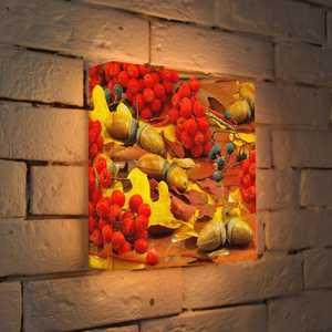 FotonioBox Лайтбокс Осенний натюрморт 25x25-068 fotoniobox лайтбокс малевич 2 25x25 137