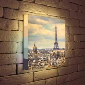 """FotonioBox Лайтбокс """"Париж"""" 35x35-103"""