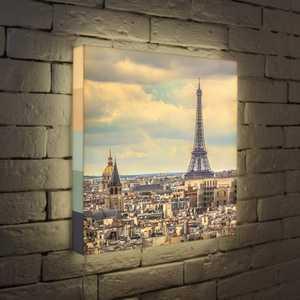 FotonioBox Лайтбокс Париж 45x45-103 лайтбокс небоскребы 45x45 109