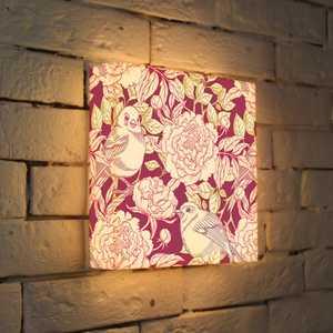 FotonioBox Лайтбокс Птицы и цветы 25x25-002 fotoniobox лайтбокс малевич 2 25x25 137