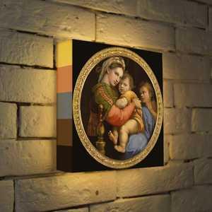 FotonioBox Лайтбокс ''Рафаэль ''Мадонна'' 25x25-165