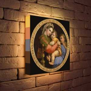 FotonioBox Лайтбокс ''Рафаэль ''Мадонна'' 35x35-165